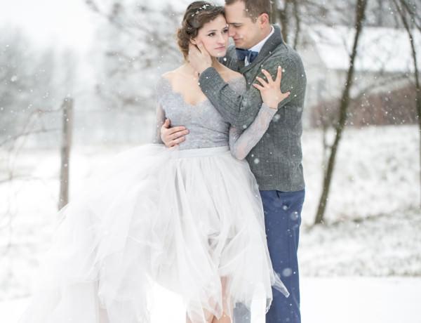 ślub Zimą Destination Wedding Photographer Based In Cracow